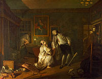 William Hogarth: Marriage A-la-Mode: 5, The Bagnio