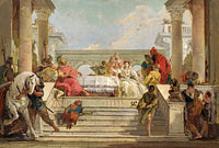 Giovanni Battista Tiepolo: The Banquet of Cleopatra (2)