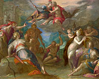 Hans von Aachen: The Amazement of the Gods (?)
