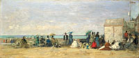 Beach Scene, Trouville (1)