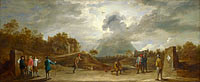 David Teniers the Younger: Peasants at Archery