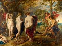 Peter Paul Rubens: The Judgement of Paris (2)