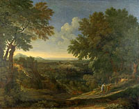 Gaspard Dughet: Landscape with Abraham and Isaac