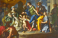 Francesco Solimena: Dido receiving Aeneas and Cupid disguised as Ascanius