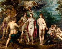 Peter Paul Rubens: The Judgement of Paris (1)