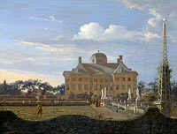 Jan van der Heyden: The Huis ten Bosch at The Hague