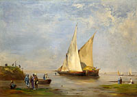 Eugène Fromentin: The Banks of the Nile
