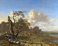 Jan Wijnants: A Landscape with a Dead Tree