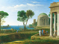 Клод Лоррен: Landscape with Aeneas at Delos