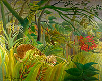 Henri Rousseau: Surprised!