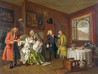 William Hogarth: Marriage A-la-Mode: 6, The Lady's Death