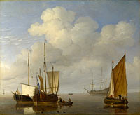 Dutch Ships in a Calm (1)