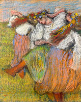 Edgar Degas: Russian Dancers (2)