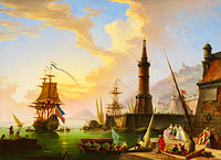 Claude-Joseph Vernet: A Seaport