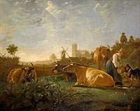 Aelbert Cuyp: The Large Dort