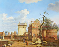 Jan van der Heyden: An Architectural Fantasy (1)