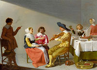 Jacob van Velsen: A Musical Party