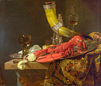 Willem Kalf: Still Life with Drinking-Horn