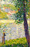 Georges Seurat: The Morning Walk