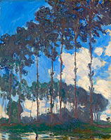 Claude Monet: Poplars on the Epte (2)