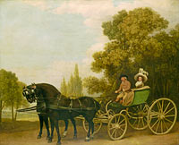 Джордж Стаббс: A Gentleman driving a Lady in a Phaeton