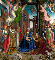 Jan Gossaert (Mabuse): The Adoration of the Kings (1)