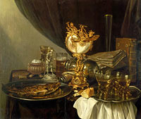 Gerret Willemsz. Heda: Still Life with a Nautilus Cup