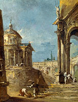 Francesco Guardi: An Architectural Caprice (2)