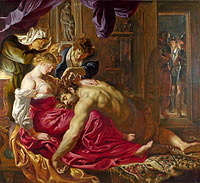 Peter Paul Rubens: Samson and Delilah (2)