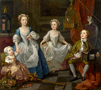 William Hogarth: The Graham Children
