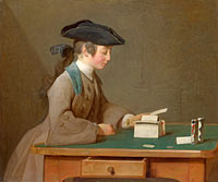Jean-Baptiste-Siméon Chardin: The House of Cards (1)