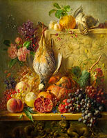 Georgius Jacobus Johannes van Os: Fruit, Flowers and Game