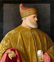 Portrait of the Doge, Andrea Gritti
