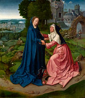 Неизвестный художник: The Visitation of the Virgin to Saint Elizabeth