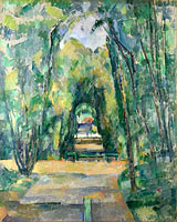 Paul Cézanne: Avenue at Chantilly