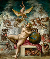 Unknown Painter, in the Style of Michelangelo Buonarroti: The Dream of Human Life