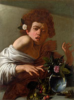 Caravaggio: Boy bitten by a Lizard