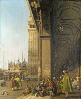 Canaletto: Venice: The Piazza San Marco (2)