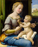 Raphael: The Madonna of the Pinks ('La Madonna dei Garofani')
