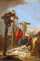 The Lamentation at the Foot of the Cross (1)