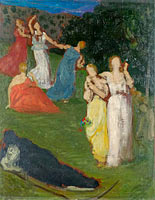 Pierre Puvis de Chavannes: Death and the Maidens