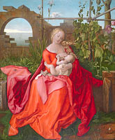 Albrecht Dürer: The Virgin and Child ('The Madonna with the Iris')