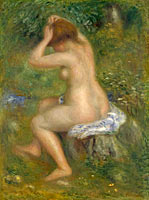 Pierre-Auguste Renoir: A Bather (1)