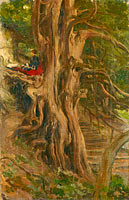 Лорд Лейтон: Trees at Cliveden, Frederic