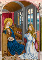 Unknown Painter: The Annunciation (1)