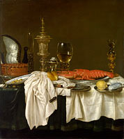 Willem Claesz. Heda: Still Life with a Lobster