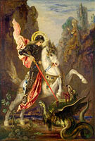 Gustave Moreau: Saint George and the Dragon