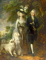 Томас Гейнсборо: Mr and Mrs William Hallett ('The Morning Walk')