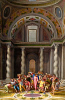 Marcello Venusti: The Purification of the Temple