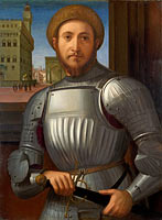 Portrait of a Man in Armour